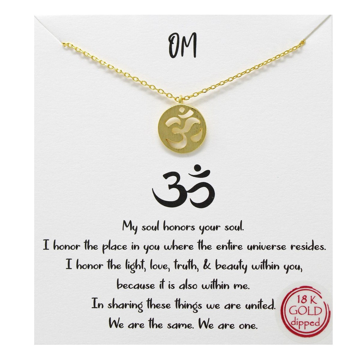 OM - Necklace