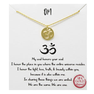 Load image into Gallery viewer, OM - Necklace