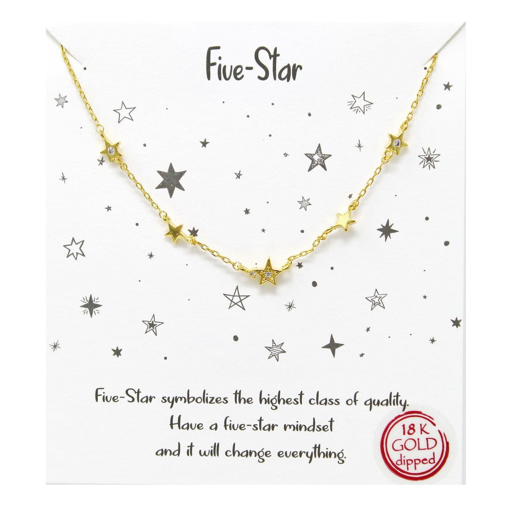 The FIve-Star Necklace