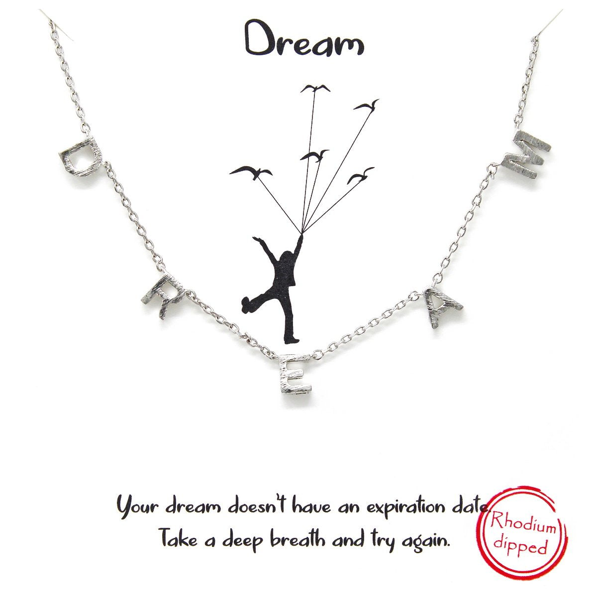 D R E A M - Necklace - Jaffi's