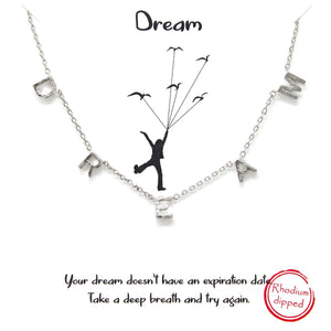 Load image into Gallery viewer, D R E A M - Necklace - Jaffi's