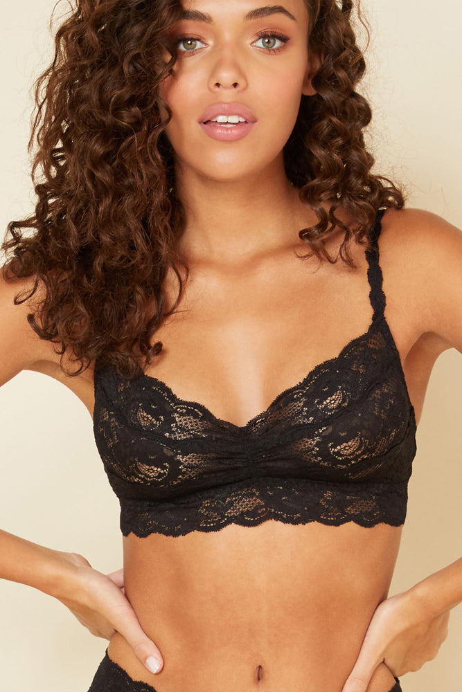 Never Say Never Sweetie Bralette - Black