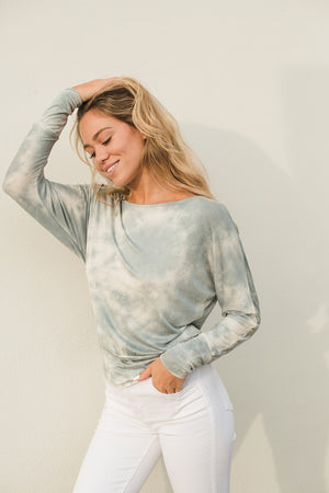 Load image into Gallery viewer, Tie Dye Banded Dolman Top