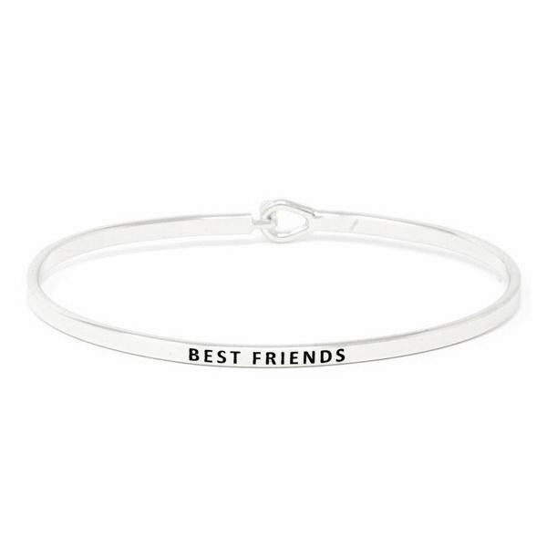Load image into Gallery viewer, BEST FRIENDS Inspirational Message Bracelet - Jaffi's