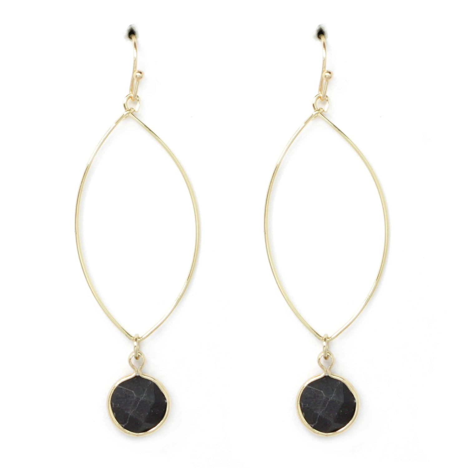 Stone Drop Earring