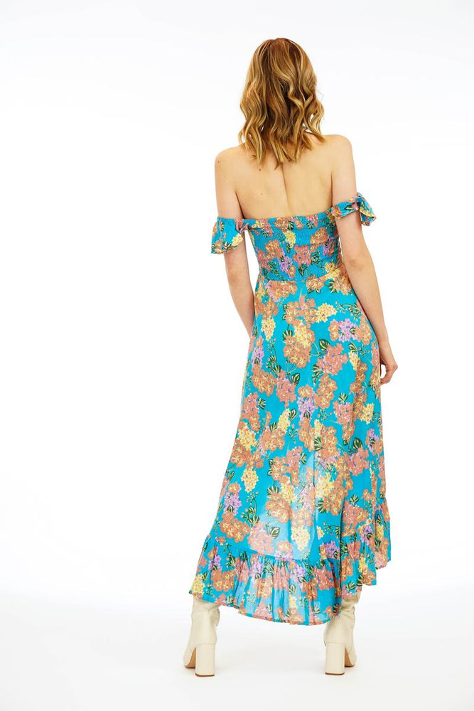 Load image into Gallery viewer, Brooklyn Maxi Dress - Rio Turquoise
