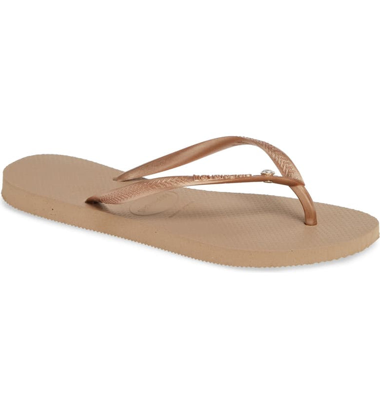 The Slim Crystal Glamour Flip Flop