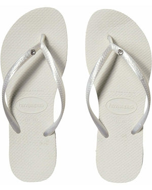 Load image into Gallery viewer, The Slim Crystal Glamour Flip Flop