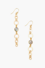 The Chain Link Earring in Gold
