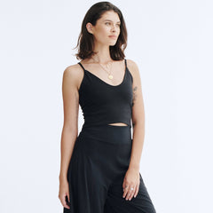 Fitted Cami Crop Top