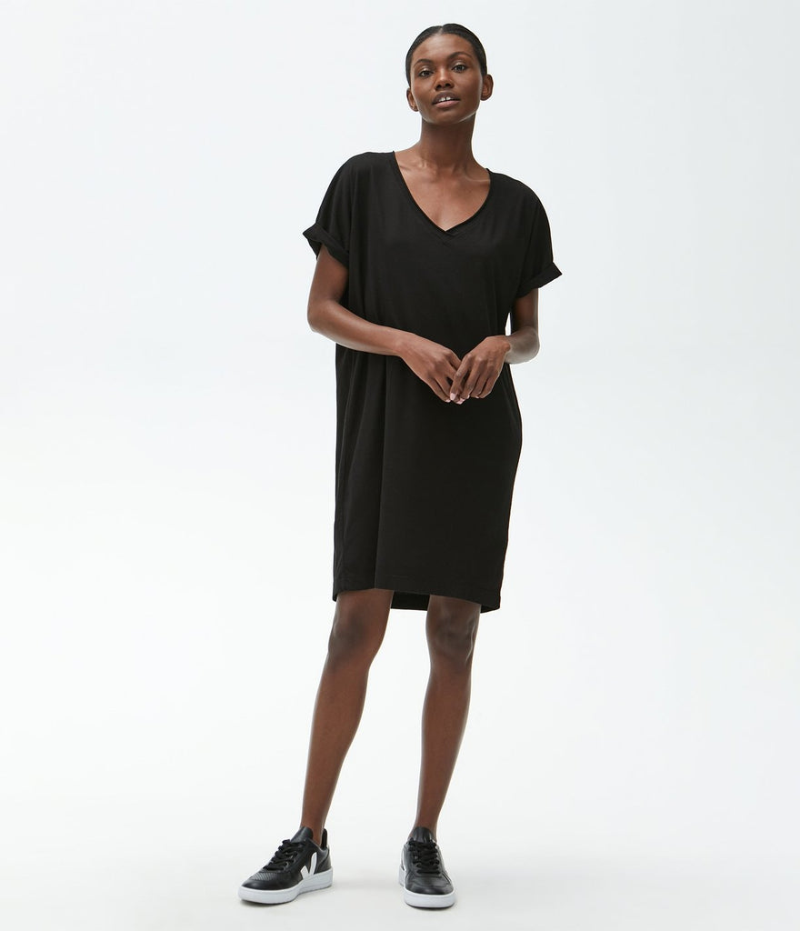 Cara V Neck Tee Dress