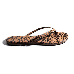 Load image into Gallery viewer, Cheetah Flip Flop