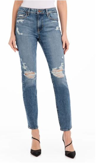 Cher High Rise Slim Straight - Hendrix