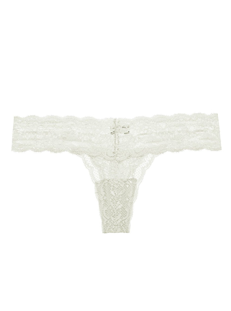 Cutie Low Rise Thong - Moon Ivory