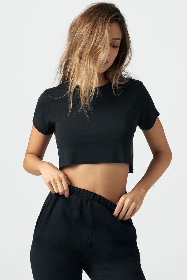 Deconstructed Crop Tee