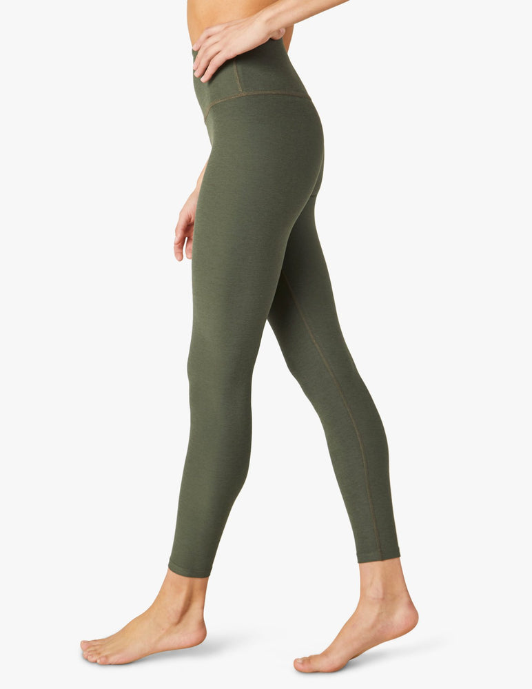 Load image into Gallery viewer, Space Dye High Waisted Midi Legging