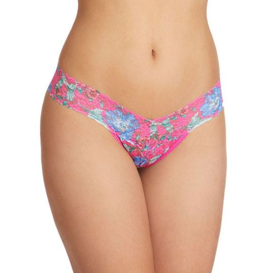 Electric Gardens Low Rise Thong