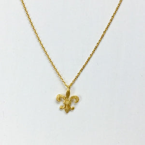 Load image into Gallery viewer, Fleur De Lis Necklace - Jaffi's