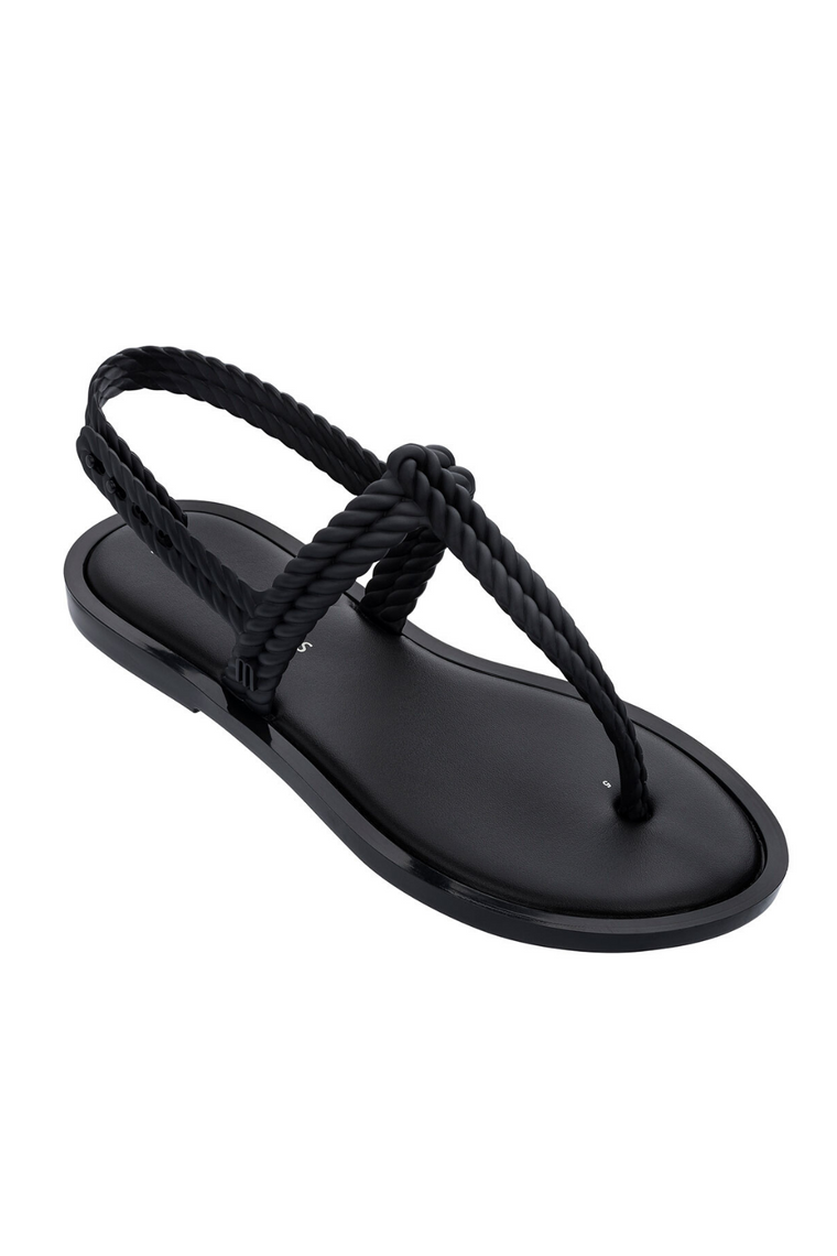 The Flash Sandal in Black