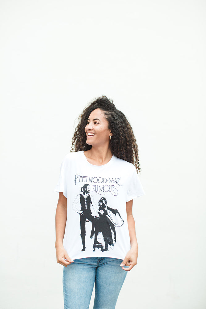 Load image into Gallery viewer, Rock & Roll Band Tee - Fleetwood Mac - Front View