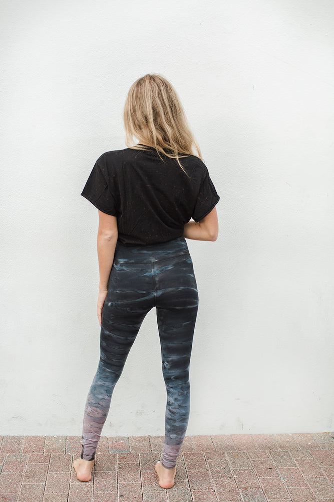 Load image into Gallery viewer, High Waisted Legging - Nightfall