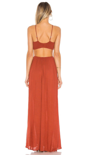 Load image into Gallery viewer, Innocence Cutaway Maxi - Copper