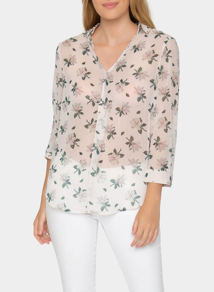The Joya Top in Floral