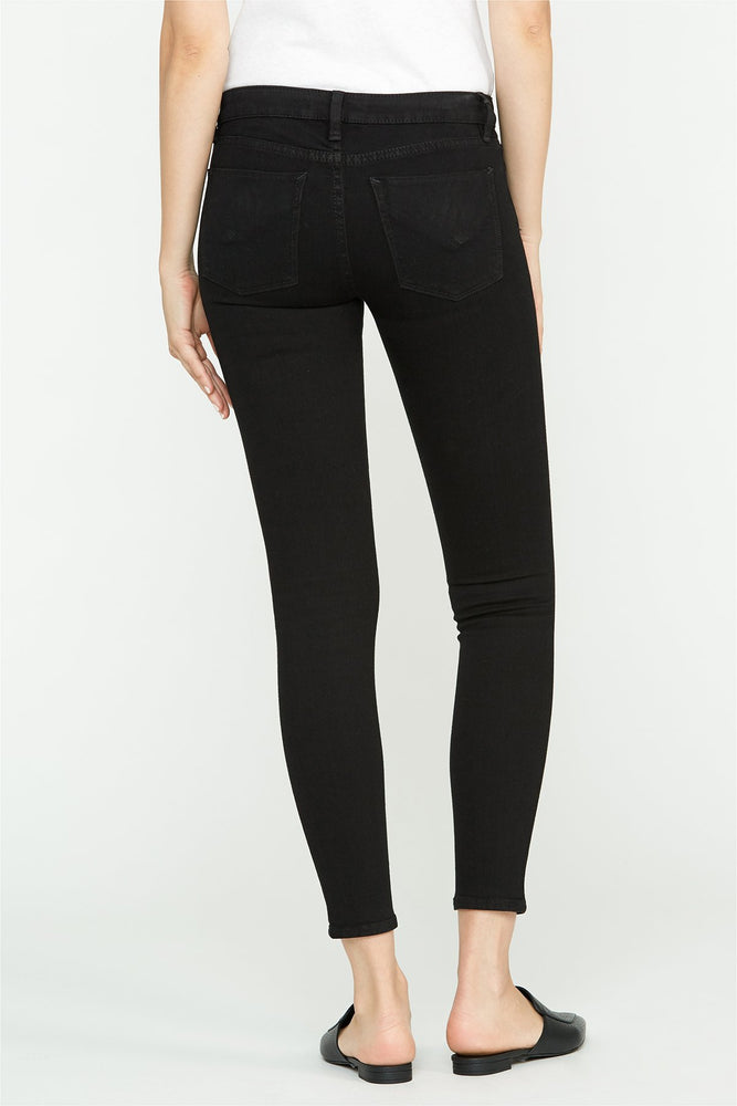 Load image into Gallery viewer, Krista Low Rise Super Skinny Black