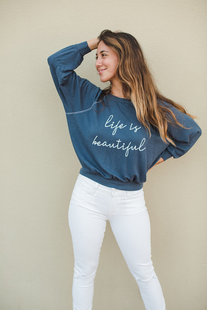 LIFE IS BEAUTIFUL - Emerson Pullover