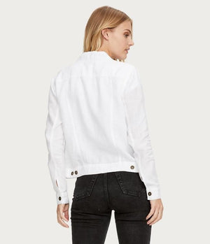 Load image into Gallery viewer, Linen Jean Jacket