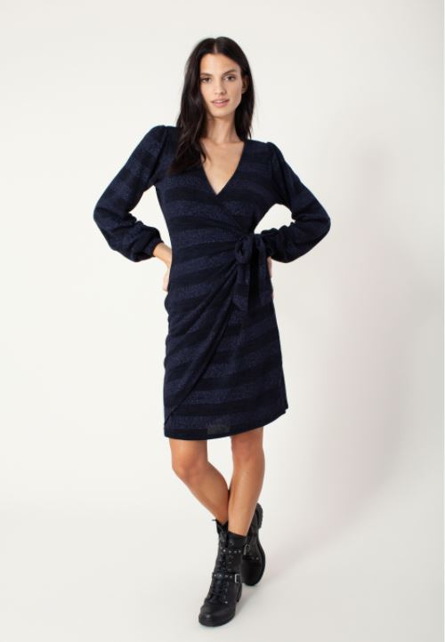 Lucille Wrap Dress