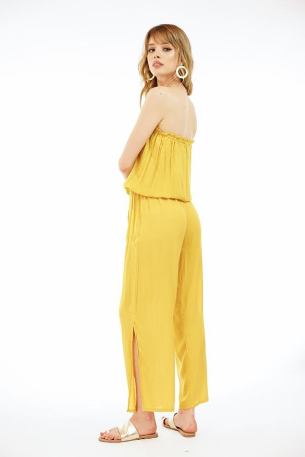 The Makena Pant Suit - Golden
