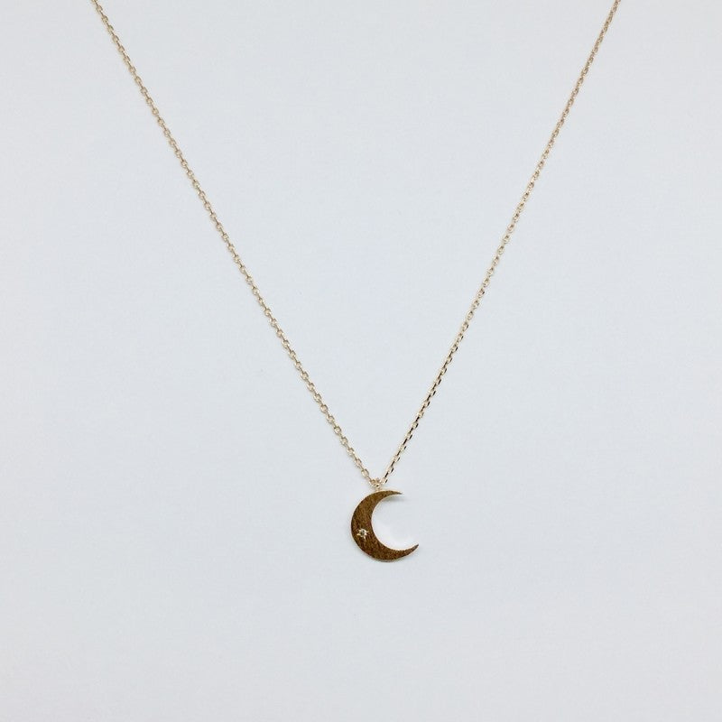 Load image into Gallery viewer, Crescent Moon Necklace - Jaffi's
