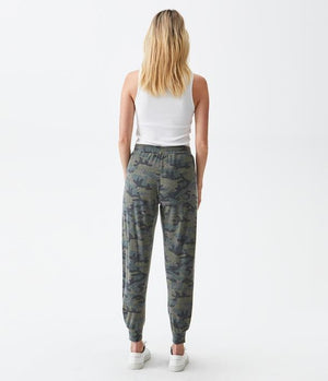Load image into Gallery viewer, Madison Brushed Jersey Myla Pleated Relaxed Jogger
