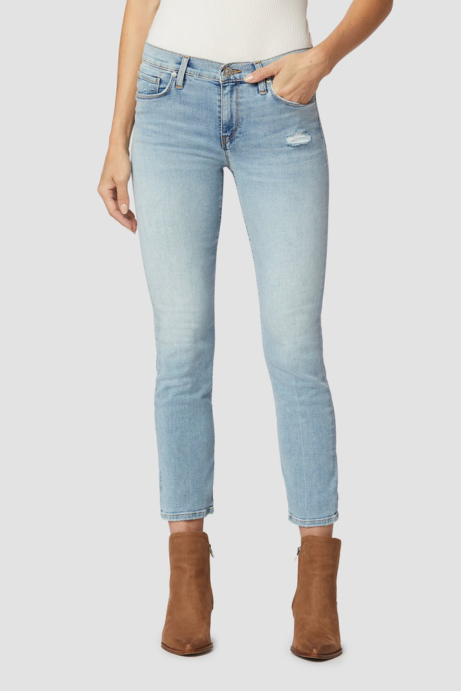 Nico Mid Rise Crop Straight - New Dawn