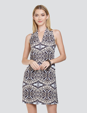 Load image into Gallery viewer, Pablo Printed Tank Dress - Front View