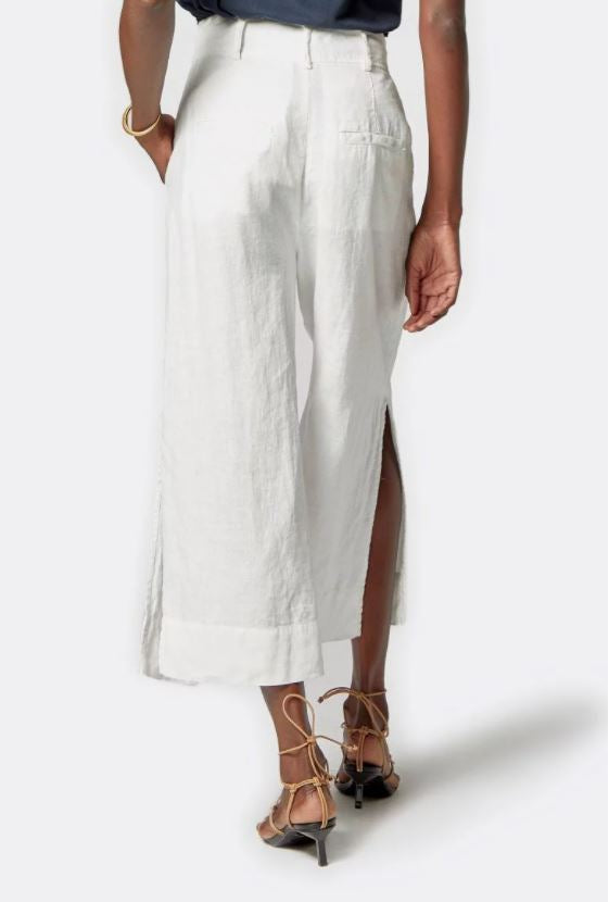 Load image into Gallery viewer, Paloma Cropped Linen Pant
