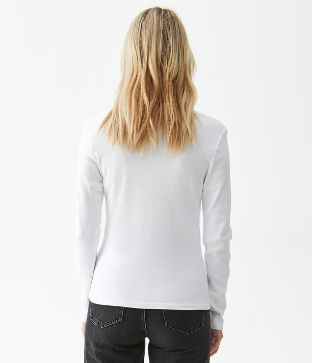 Load image into Gallery viewer, 1x1 Cotton Ren Y Neck Henley Tee