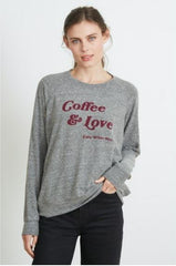 COFFEE & LOVE - Roselynn Pullover