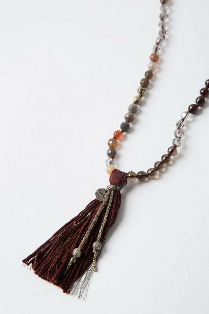 Load image into Gallery viewer, The Garnet Mix Necklace