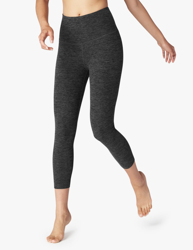 Space Dye High Waist Capri