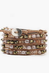 The Sunstone Mix Wrap Bracelet