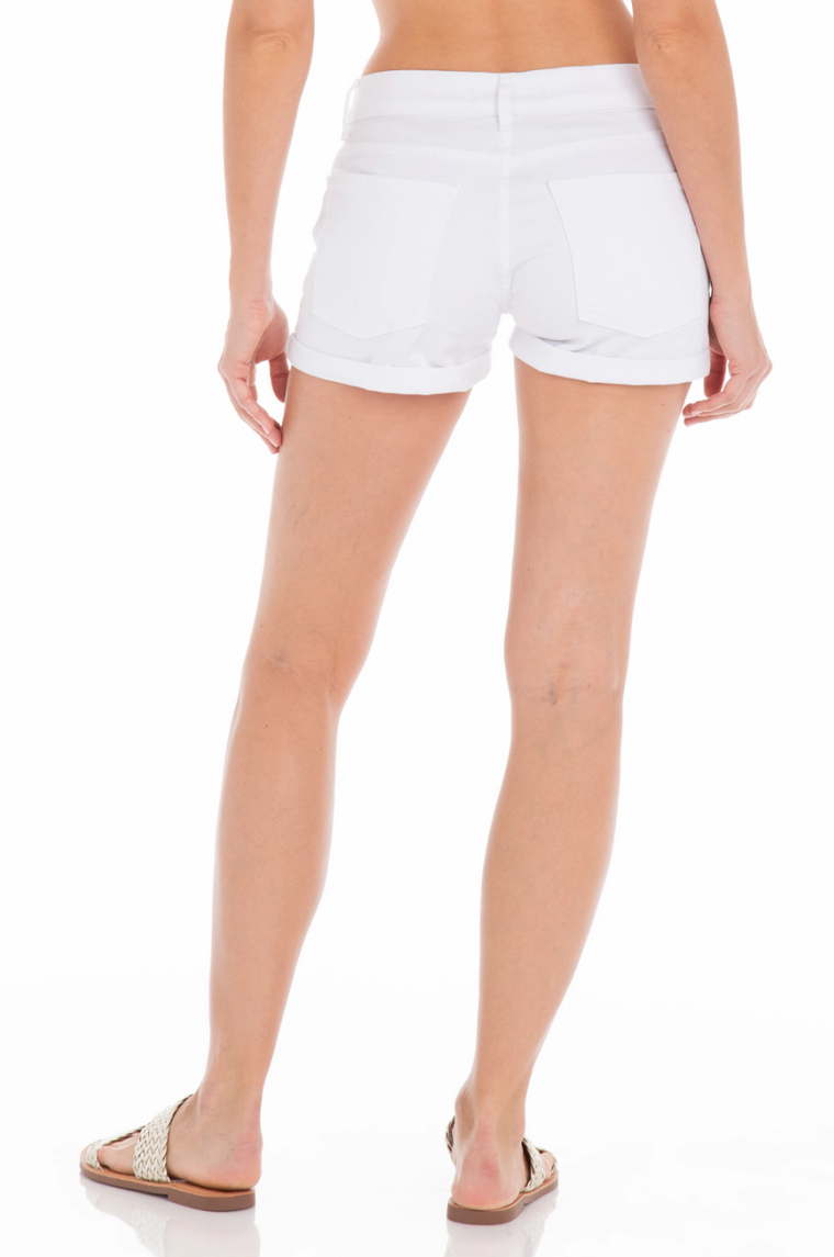 The Malibu Short - Vintage White