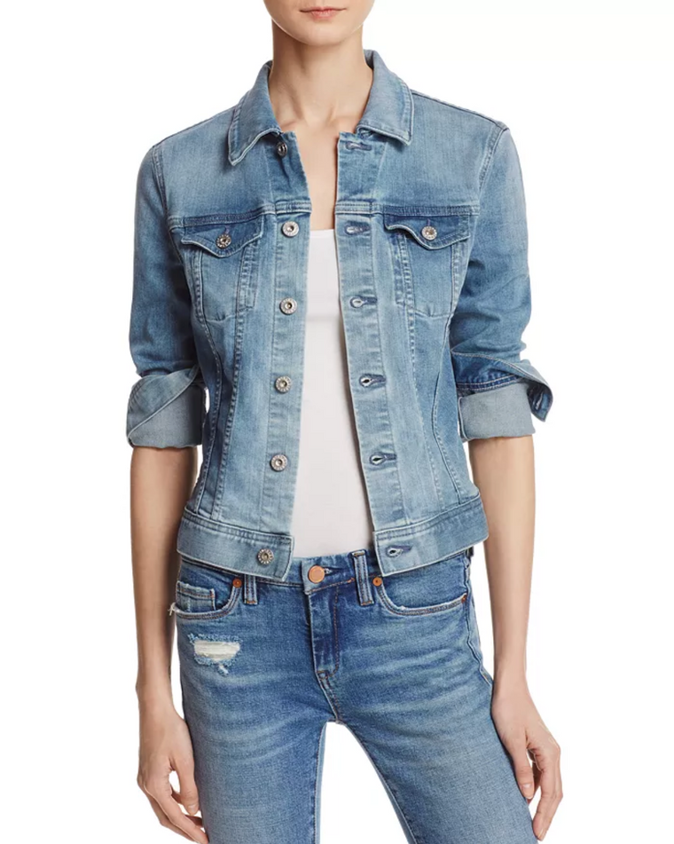 Robyn Denim Jacket - Vintage Wash