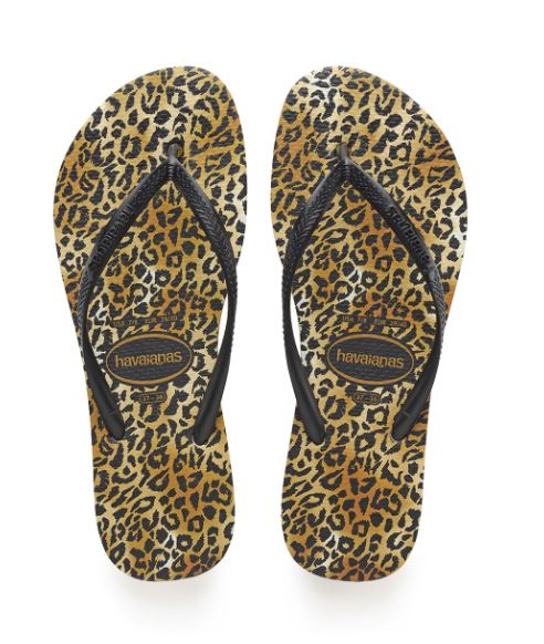Load image into Gallery viewer, Slim Leopard Flip Flop