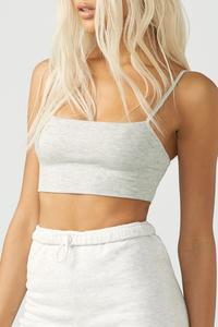 Square Neck Tank Bra