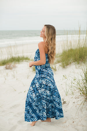 Load image into Gallery viewer, Drop Waist Tube Maxi Dress - Jaffi's