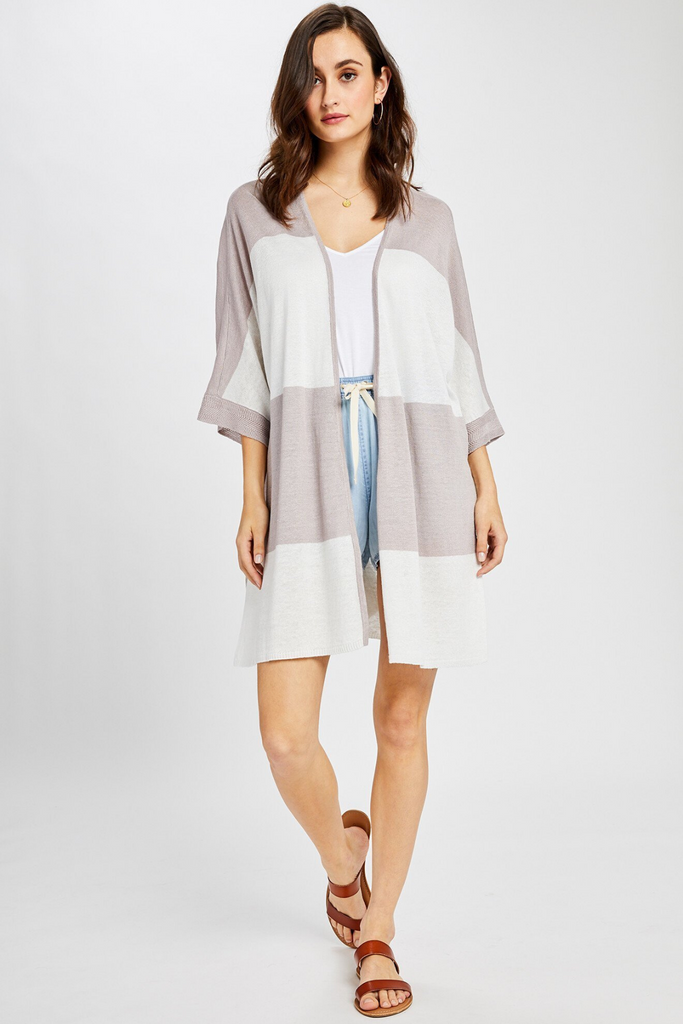 The Vela Open Cardigan