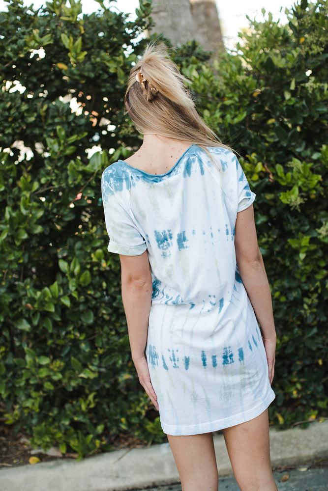 Load image into Gallery viewer, Tie Dye Cara V Neck Dress