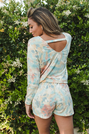 Load image into Gallery viewer, Tie Dye Open Back Pullover